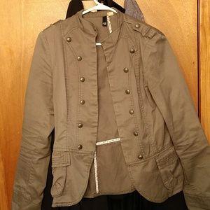 Jackets & Blazers - Olive Military Jacket